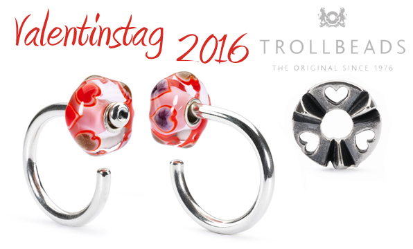 Troll-beads - Valentinstag 2016