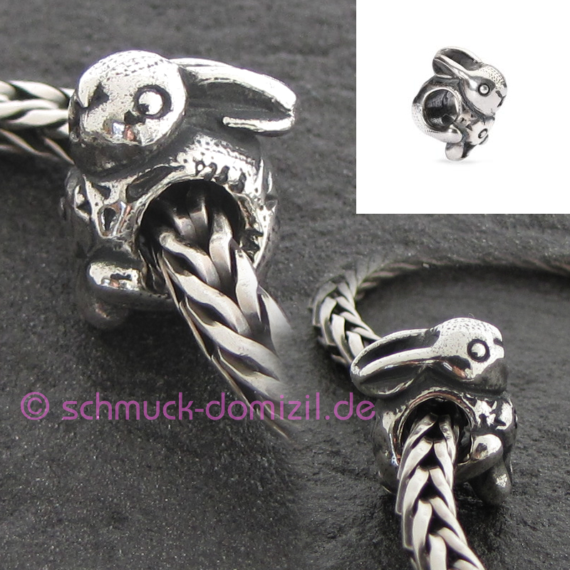 trollbeads silberbead ostern 2014 osterhase schmuck. Black Bedroom Furniture Sets. Home Design Ideas