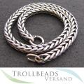 TROLLBEADS - Armband Sterling Silber 15-24 cm