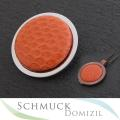 AUSLAUFMODELL - Quoins - QMOT-L-OR - Schlangenleder Orange - Gr. L